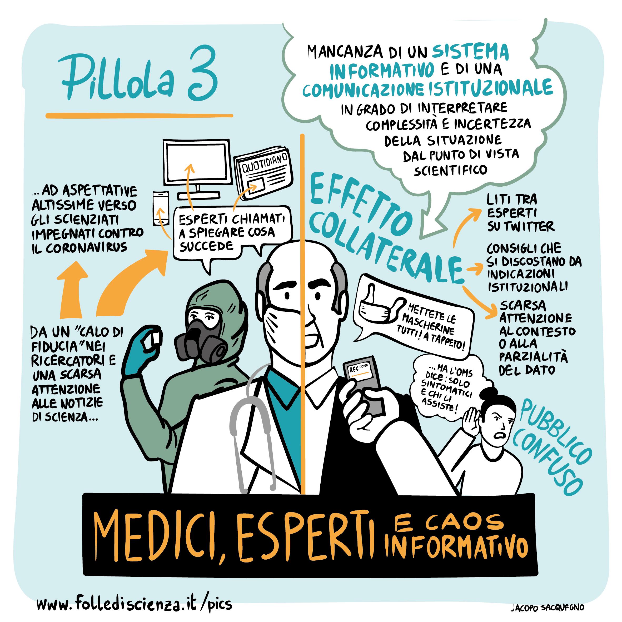 Medici, esperti e caos informativo